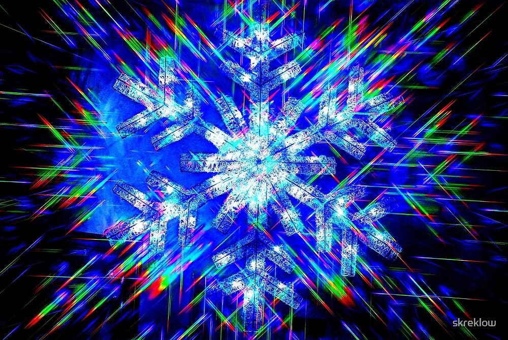 Electric Snowflake by skreklow