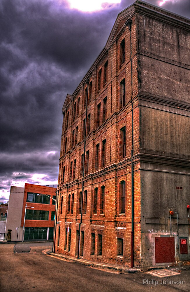 Lonely Streets - The Rocks, Sydney Australia - The HDR Experience by Philip Johnson