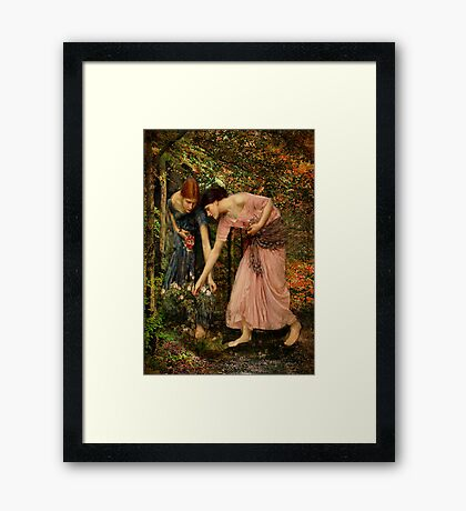 Gather-ye-Roses Framed Print