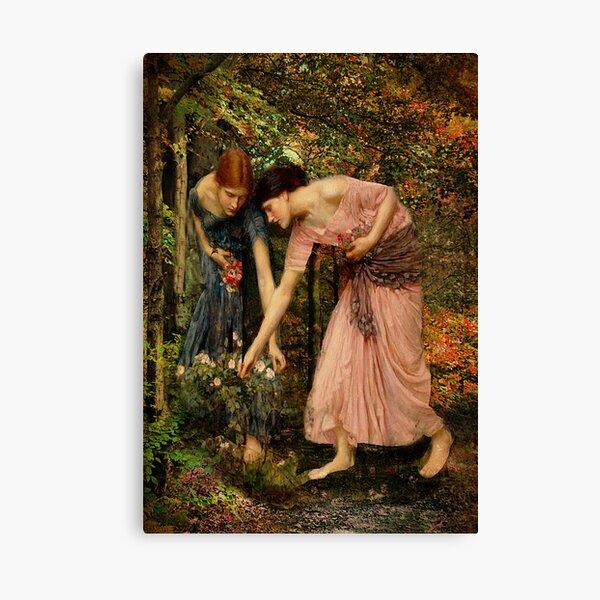 Gather-ye-Roses Canvas Print