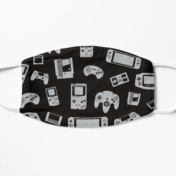Jeux vidéo (noir / gris) Masque sans plis