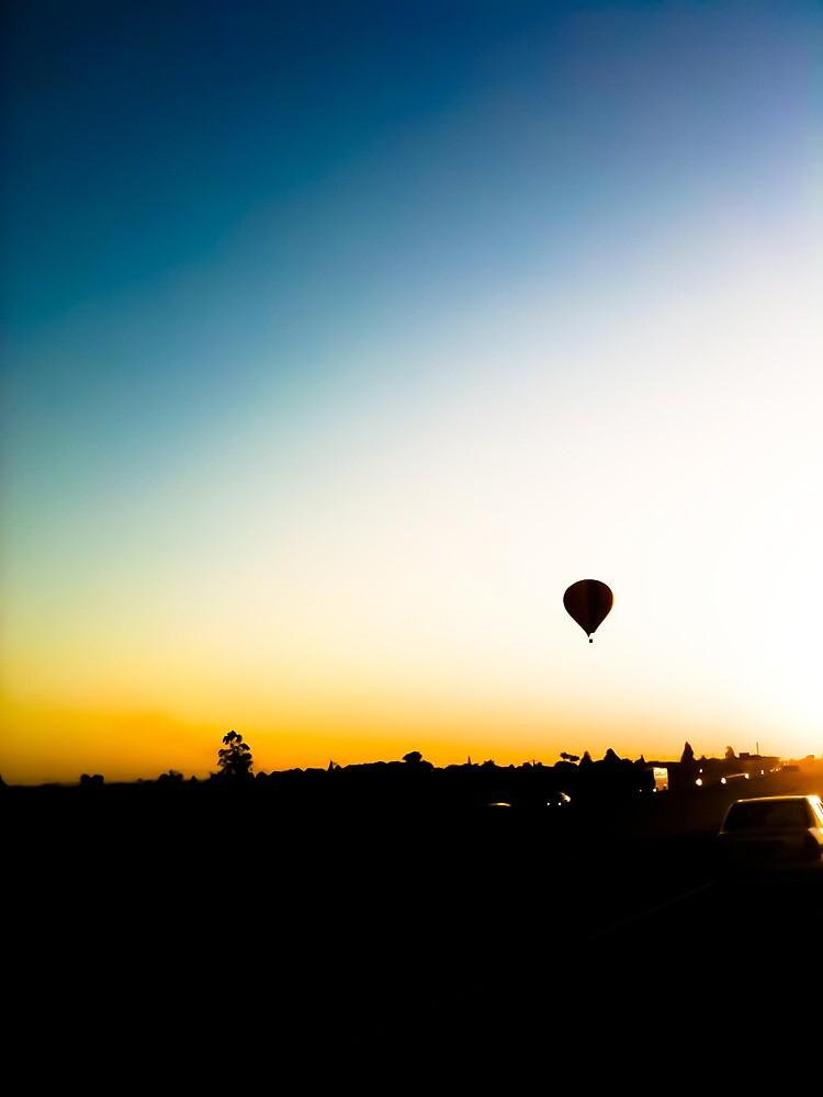 Balloon and the horizon [ iPad / iPod / iPhone Case ] by Mauricio Santana
