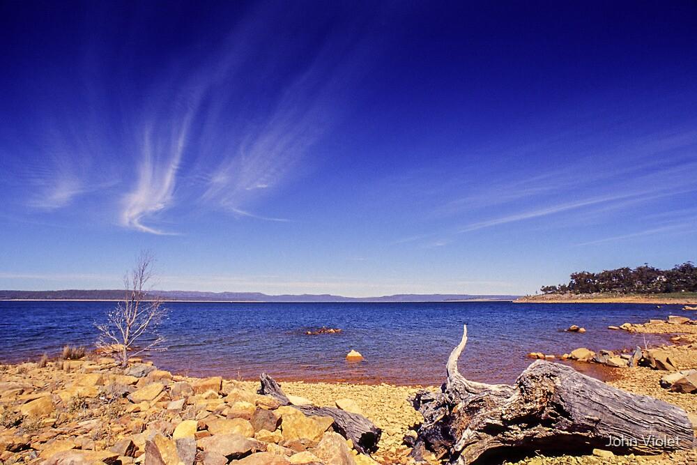 Rusty shore by John Violet