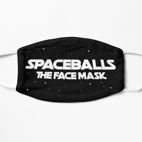 spaceballs the facemask Flat Mask