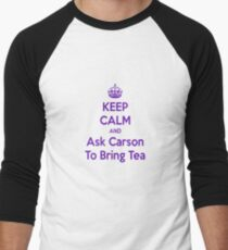 Keep Calm and Ask Carson To Bring Tea Small T-Shirt
