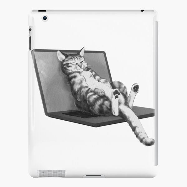 Cat Top iPad Snap Case