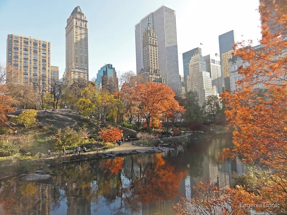 New York sky by Eugenia Gorac