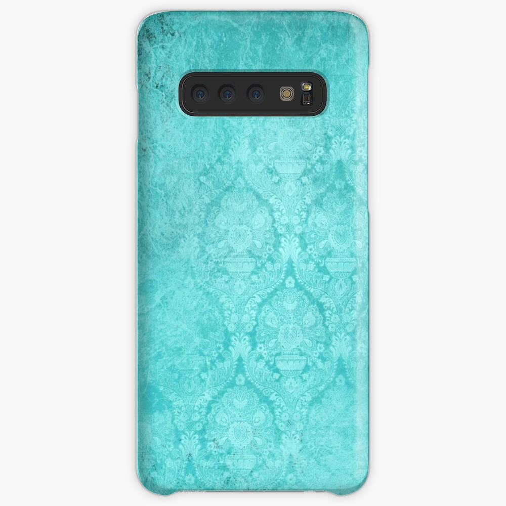 Follow Me Now Art With Background Victorian Old Wallpaper Case Skin For Samsung Galaxy By Redabelca Redbubble