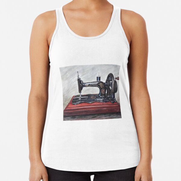 The Machine III Racerback Tank Top