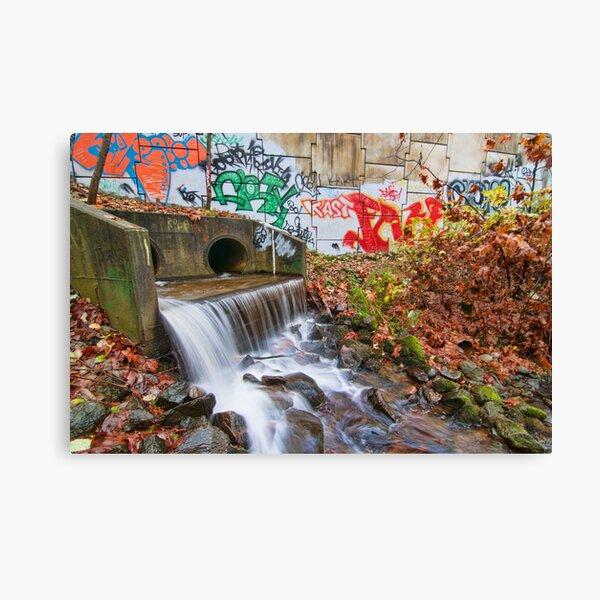 Tattooed Waterfall Canvas Print