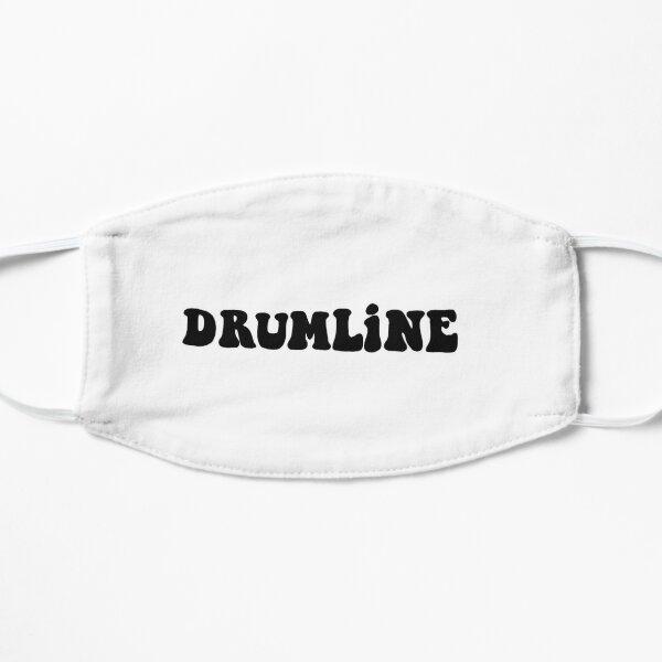 DrumLine Text Print Flat Mask