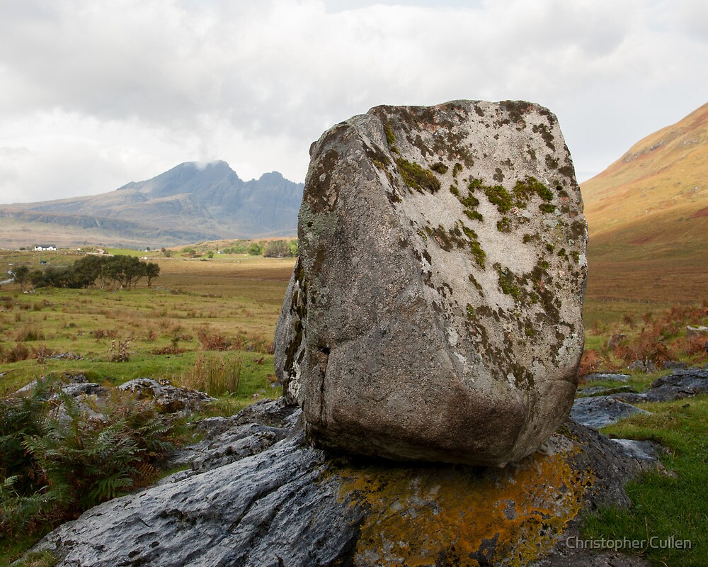 Coille Gaireallach stone by Christopher Cullen