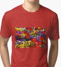 Field of Flowers Tri-blend T-Shirt