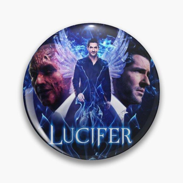 Lucifer Morningstar - Devil vs Angel Button