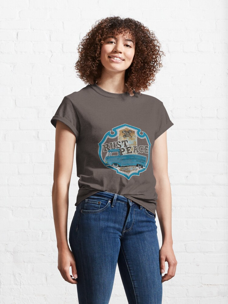 Alternate view of Combi type 23 rust aircooled Classic T-Shirt