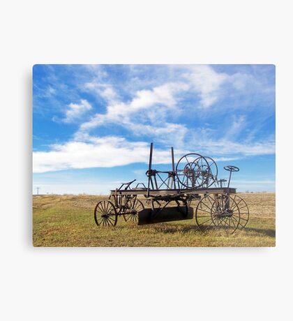 Prairie Fossil Metal Print