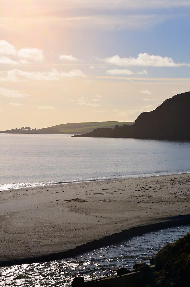 Pentewen Seaside View by Ashley Wells