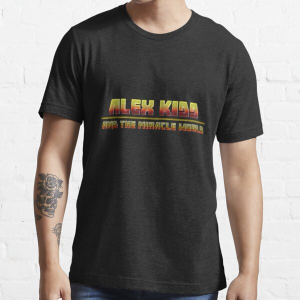 Alex Kidd and the Miracle World - Band logo Tshirt Essential T-Shirt