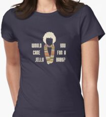 Would you care for a jelly baby Womens Fitted T-Shirt