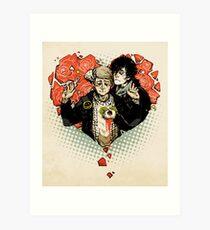 Sherlock: The Reichenbach Fall Art Print
