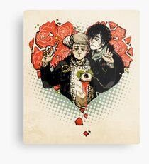 Sherlock: The Reichenbach Fall Metal Print