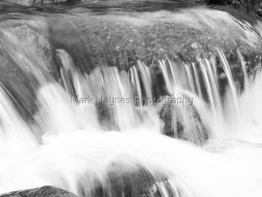 Stickle Ghyll , waterfall. by Mark Haynes Photography