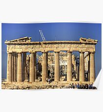 Heavy Lifting Gear in the Parthenon Poster