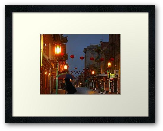 Grant Street in the Rain by David Denny