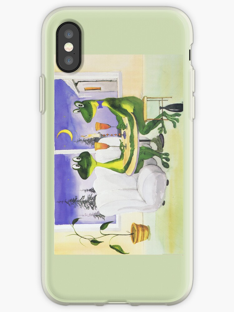 All about Frogs 8, Dinner for two for iPhone by SergejK
