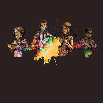 Tales from the Borderlands Characters by Ixva