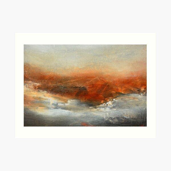 Rust Landscape II Art Print