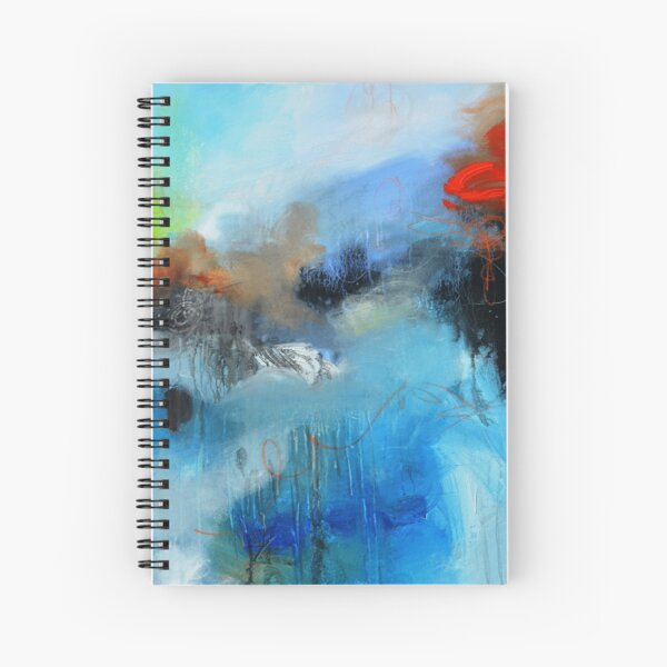 Red Sign Spiral Notebook