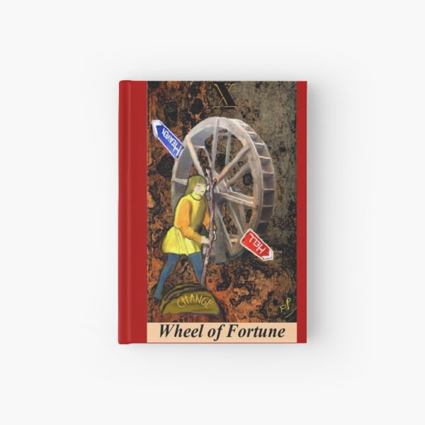 WHEEL OF FORTUNE Hardcover Journal