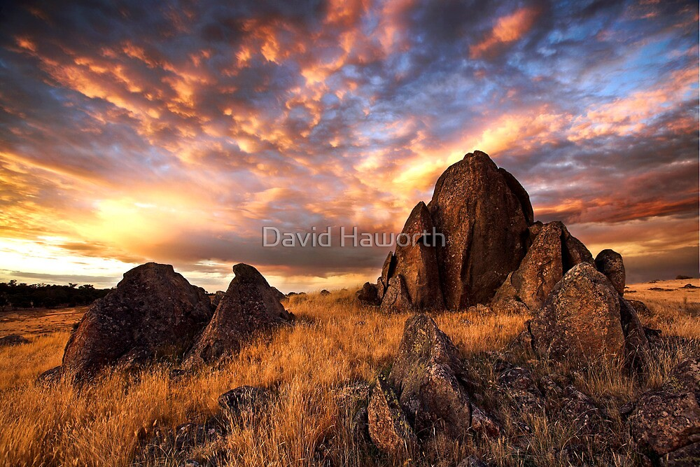 On Fire Mountain by David Haworth