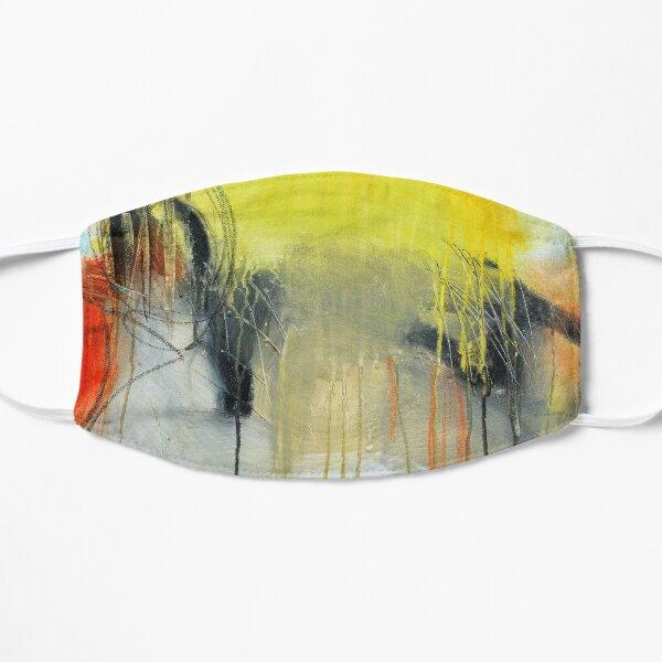 Golden abstract art  Mask