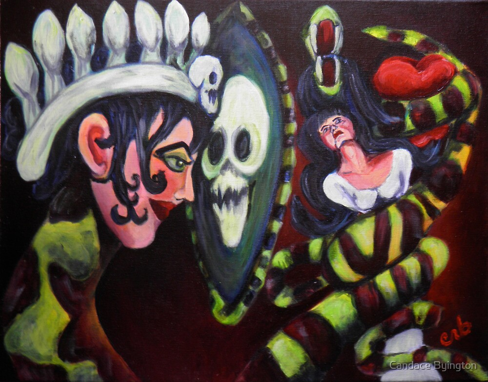 Snow White and The Evil Queen by Candace Byington