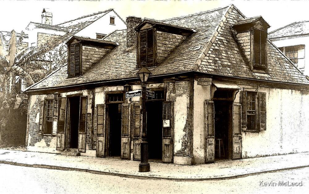 Lafitte's Blacksmith Shop by Kevin McLeod