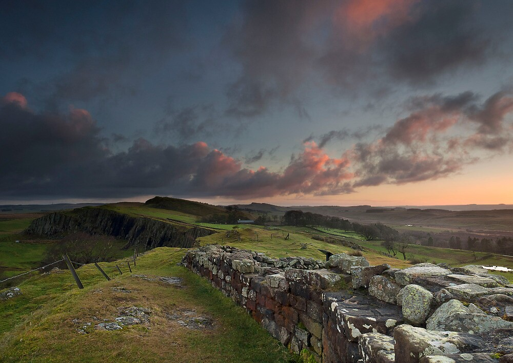 the wall at dawn by paul mcgreevy