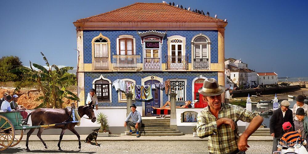 Windows of the Algarve by billyboy