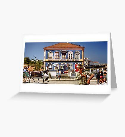 Windows of the Algarve Greeting Card