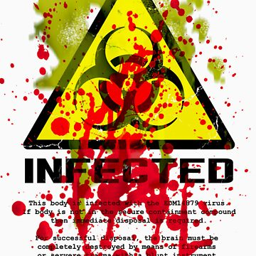 INFECTED and 28 Days Later by Iainmaynard
