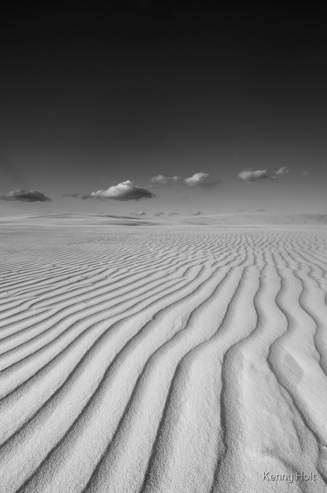 patterns in the sand II by Kenny Holt