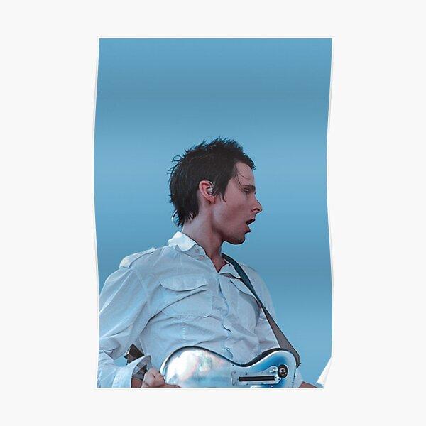 Muse Matt Bellamy Póster
