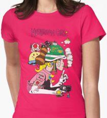 Mushroom Girl Women's Fitted T-Shirt