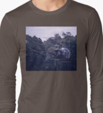 Bell 47 Helicopter @  Nowra, Australia 1997 Long Sleeve T-Shirt