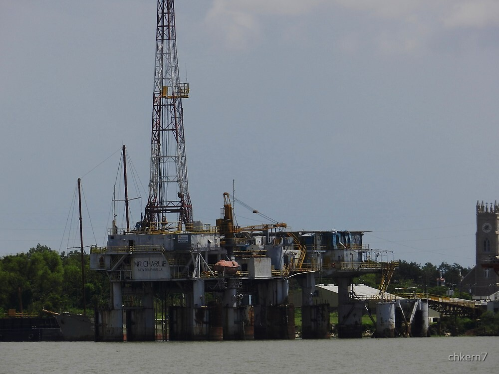 Oil Rig, tourist attraction by chkern7