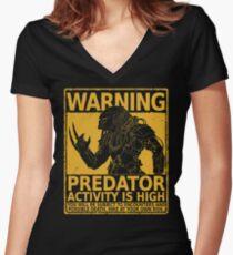 Hunting Season Women's Fitted V-Neck T-Shirt