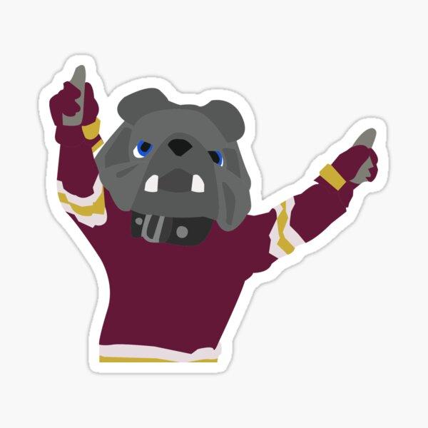 Champ the Bulldog Sticker