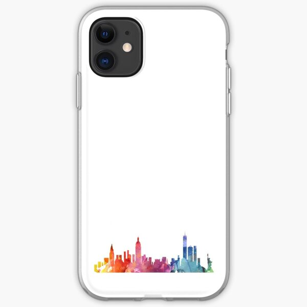 New York Colourful Skyline 2 iPhone Soft Case