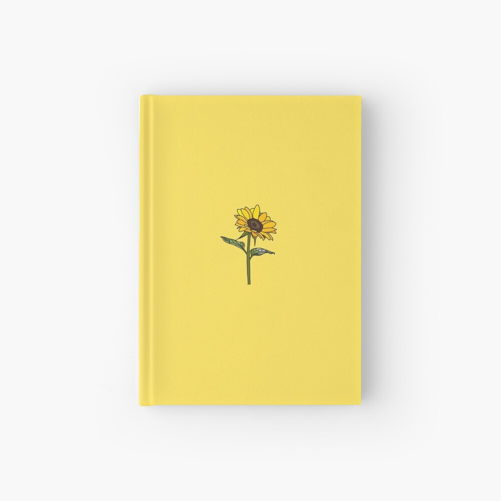 Little Aesthetic Sunflower Hardcover Journal